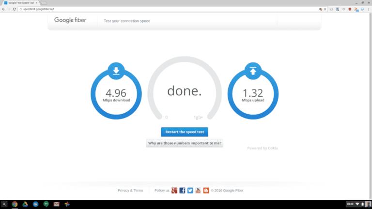 wifi hotspot 1 - mål din hastighed