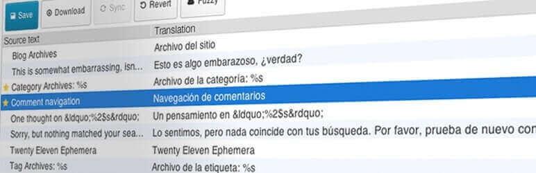 Oversæt tekster i dit tema og plugins, direkte i dit WordPress dashboard. Lav .PO sprogfiler der overlever opdateringer