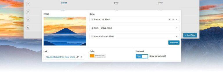 Opret Custom Fields til eksisterende Post Types. Udbredt plugin med stor understøttelse i andre plugins og temaer.