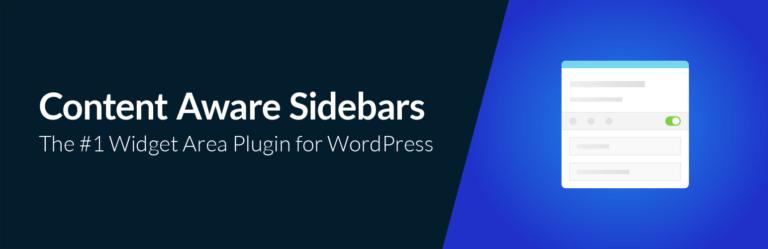 Content Aware Sidebars banner