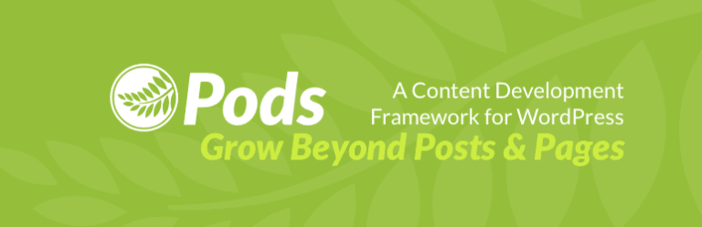 Opret Custom Post Types, Custom Fields, eller udvid eksisterende datatyper med nye felter. Understøtter  relationships.